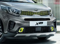 Kia Morning X-Line: Audaz y Crossover